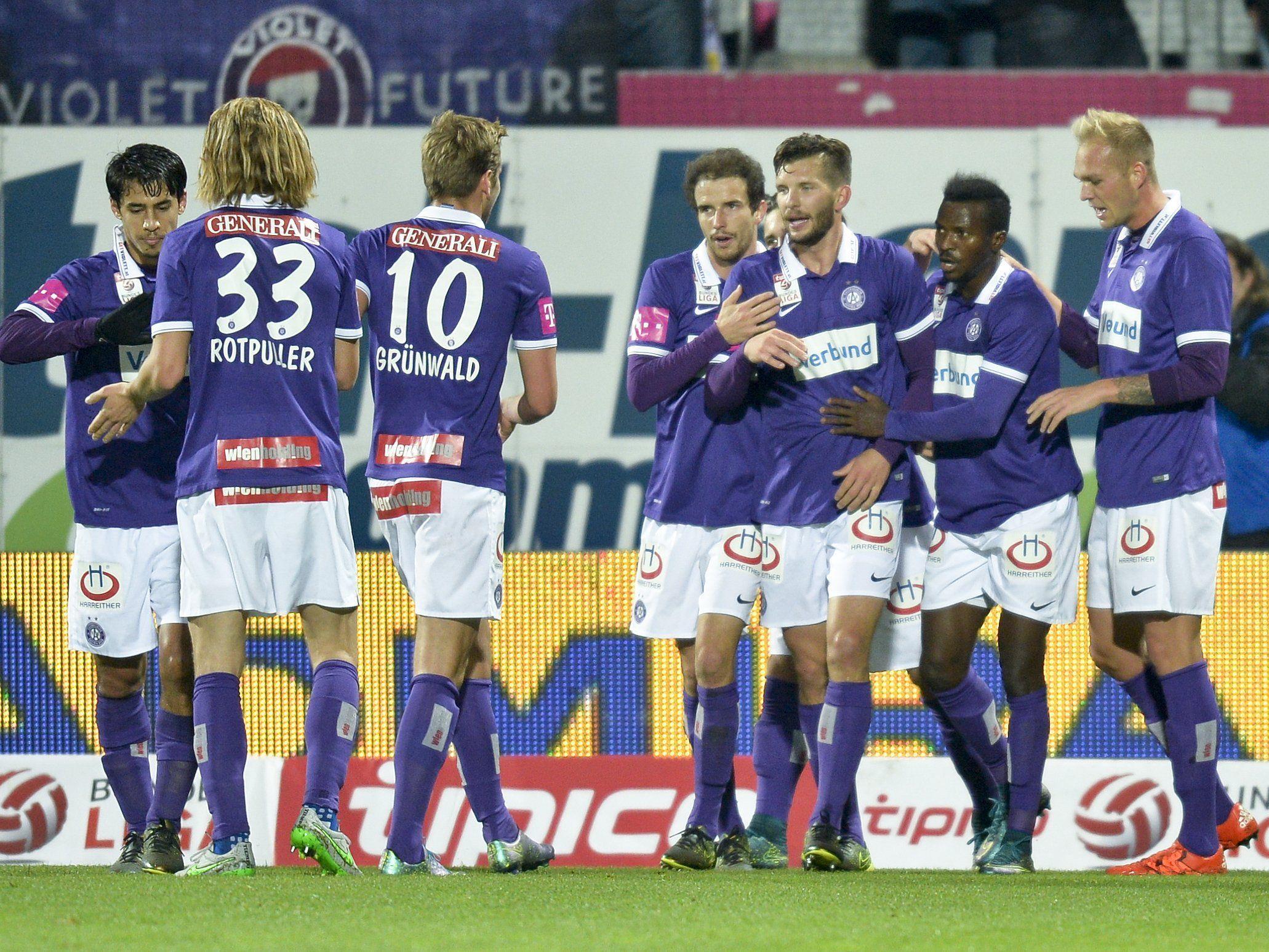 Das sind die Meinungen zum Spiel FK Austria Wien gegen SV Grödig.