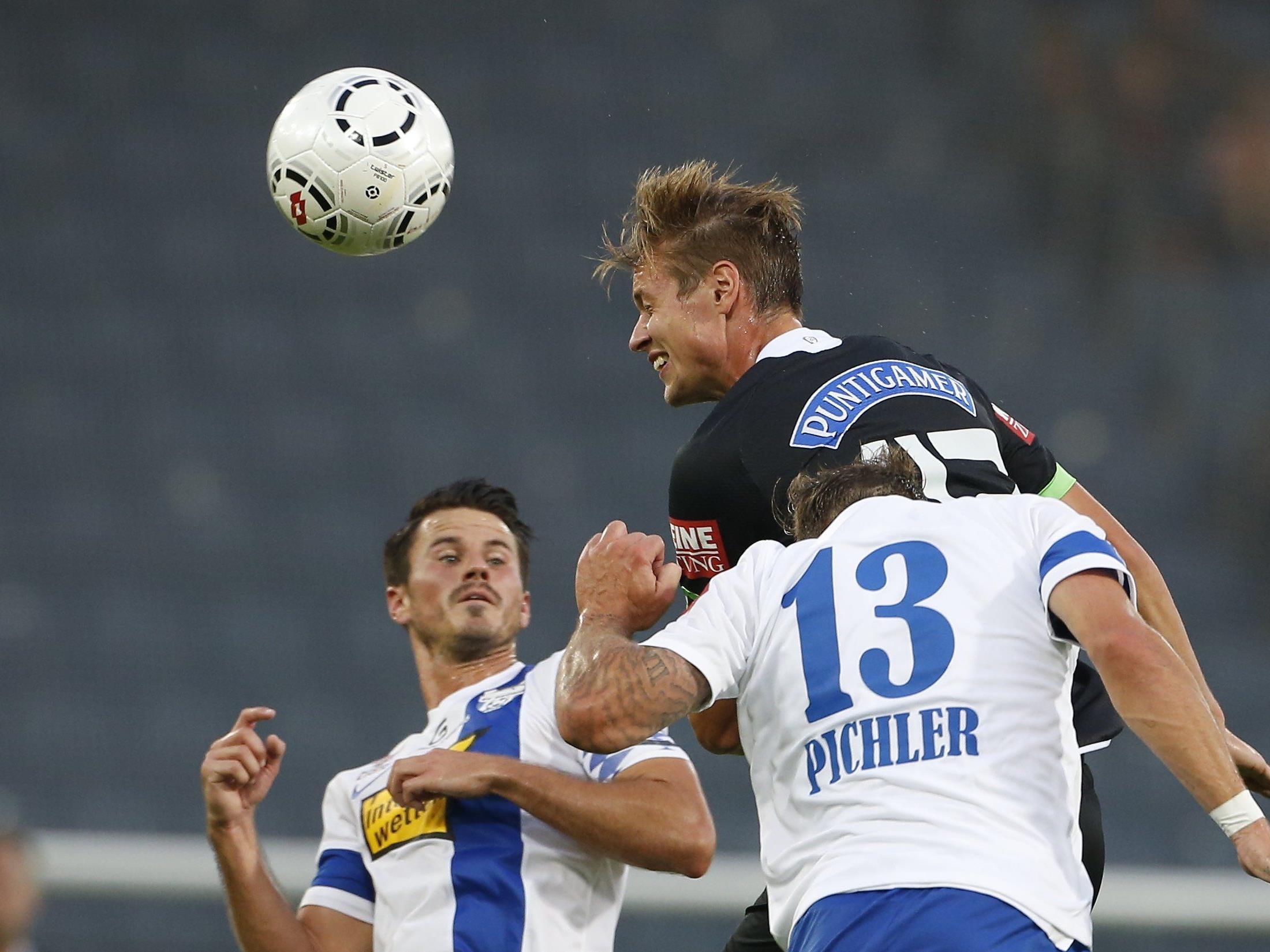 LIVE-Ticker zum Spiel SV Grödig gegen SK Sturm Graz ab 16.00 Uhr.