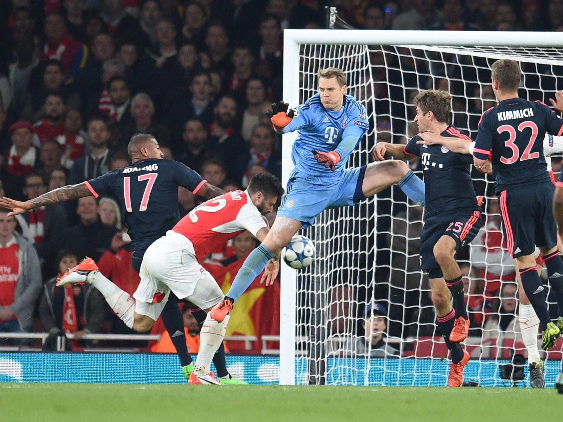 Welttorhüter Manuel Neuer patzte.