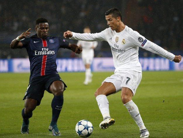 Real-Superstar Ronaldo blieb gegen Paris ohne Treffer.