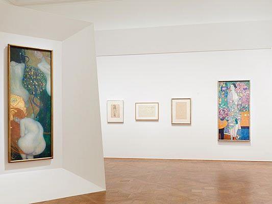 """In der Ausstellung """"Klimt/Schiele/Kokoschka und die Frauen"""""""