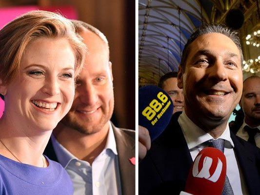 Freude herrscht bei den NEOS und der FPÖ
