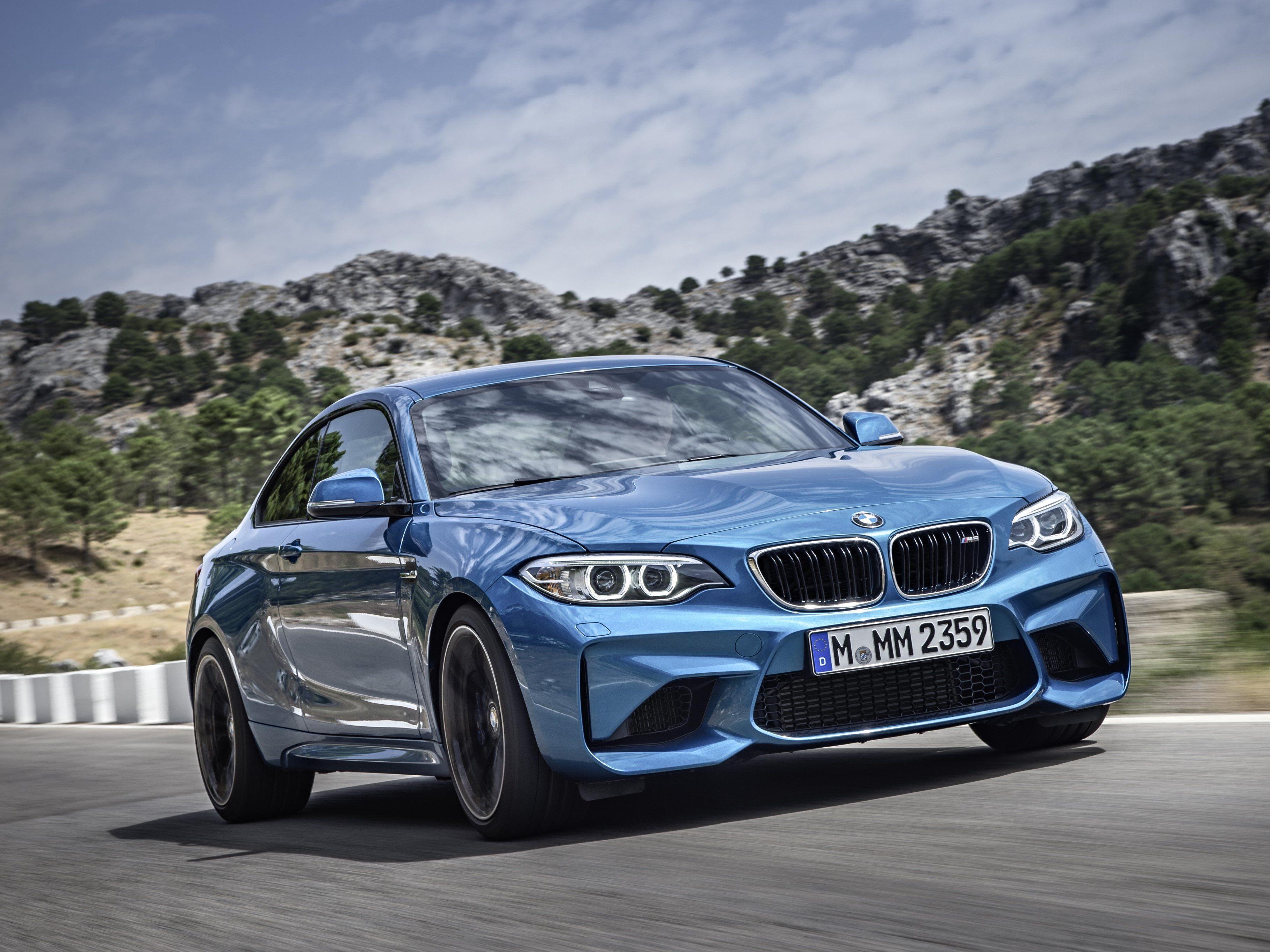 Kein Grund so böse zu schauen - Der neue BMW M2.
