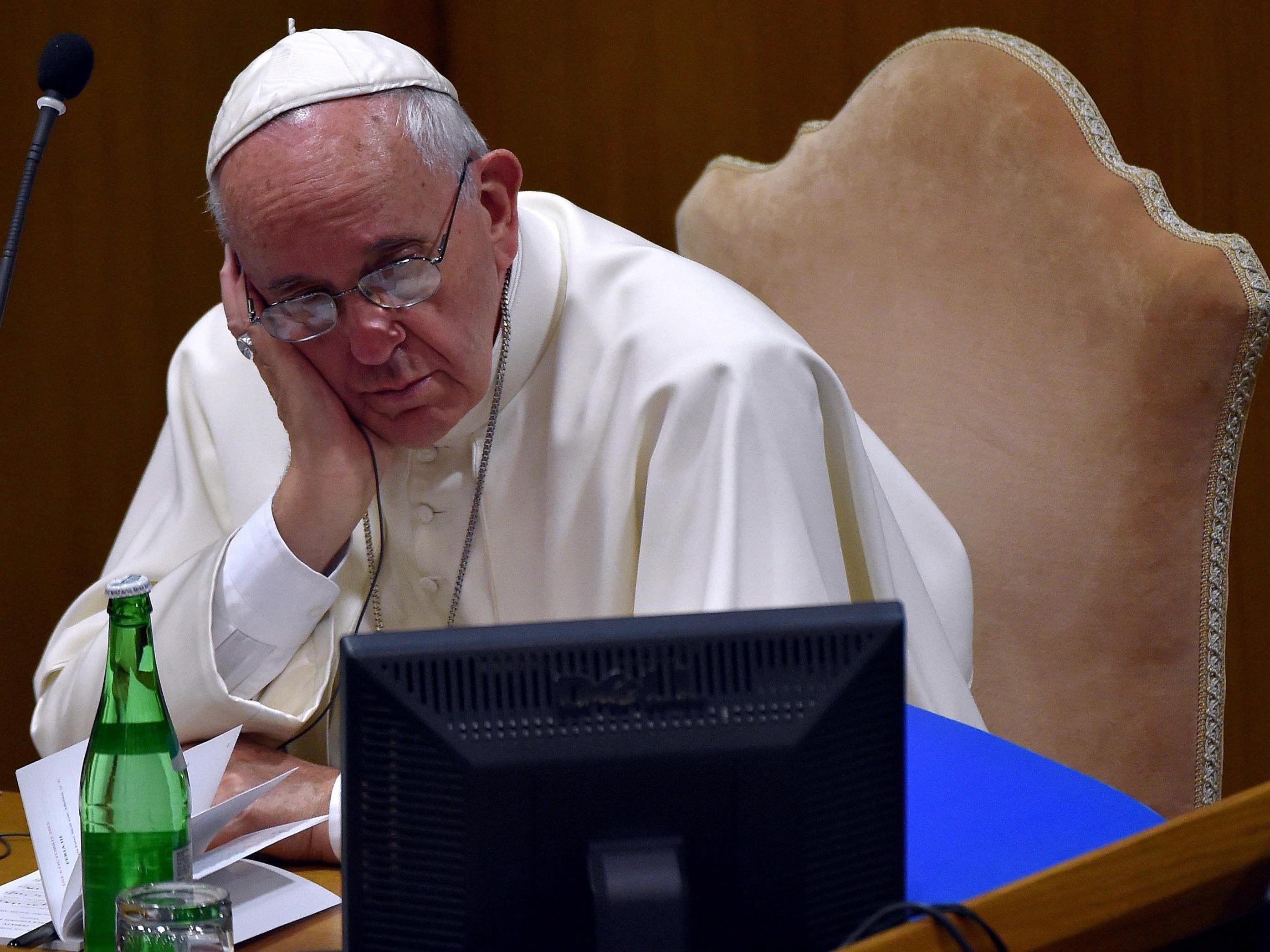 Der Beschwerdebrief für Papst Franzsiskus sollte privat zugestellt werden