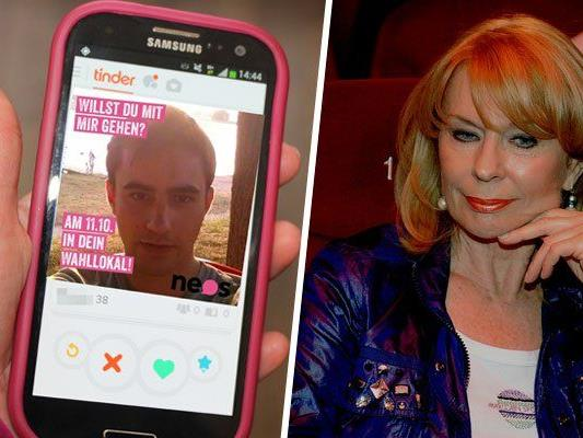 Skurrile Highlights: Von den NEOS, die auf Tinder werben, bis hin zu Gerda Rogers, die für den Wahlausgang in die Sterne schaut