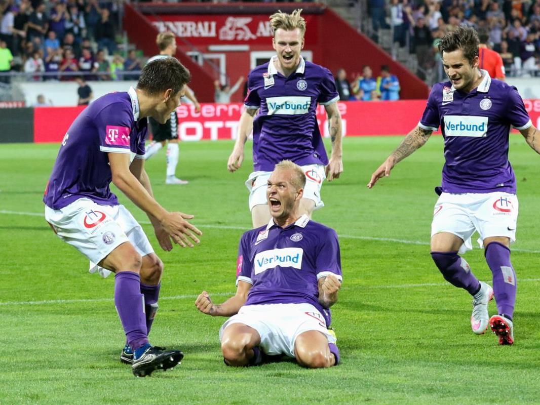 24 Fans bekommen die Gelegenheit, gegen die Austria-Profis zu spielen.