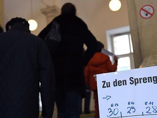 Wahltagsbefragung: Das Flüchtlingsthema wurde im Vorfeld stark diskutiert