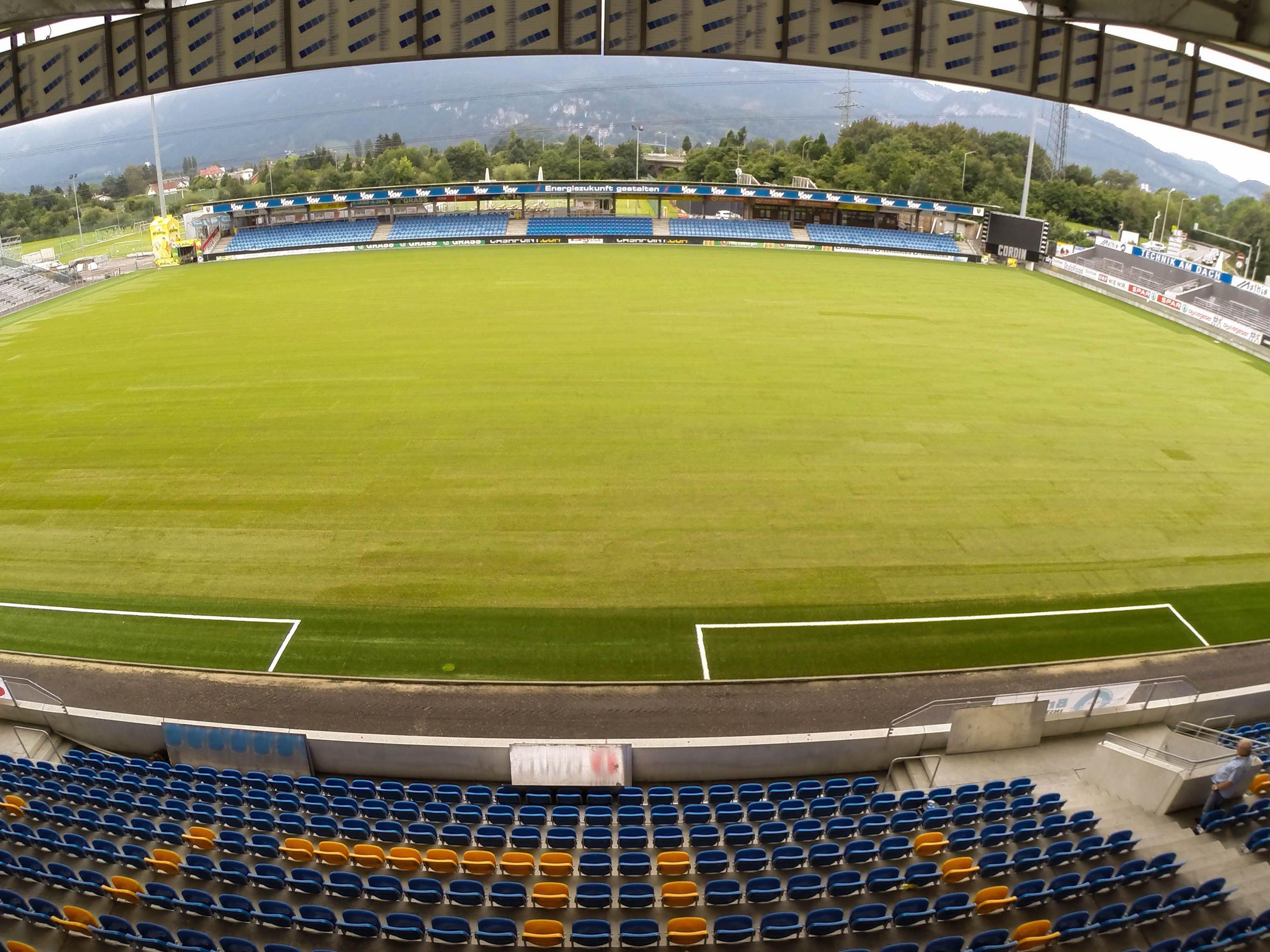 Europa League-Spiele sollen in Zukunft hier stattfinden - vor einer neuen Kulisse.