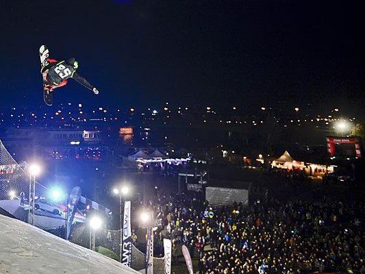 Beim Fridge Festival auf der Donauinsel