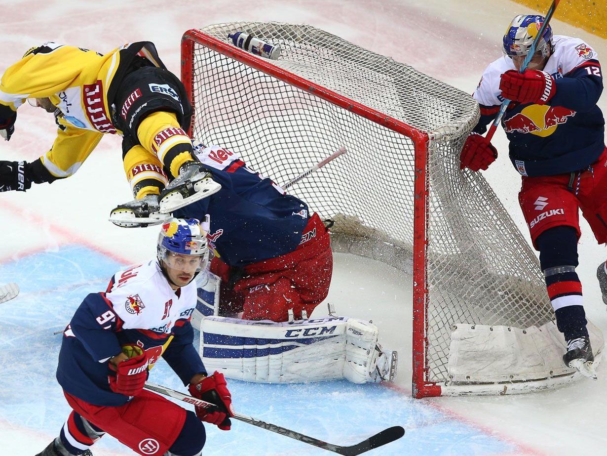 Die Vienna Capitals verloren gegen Salzburg.
