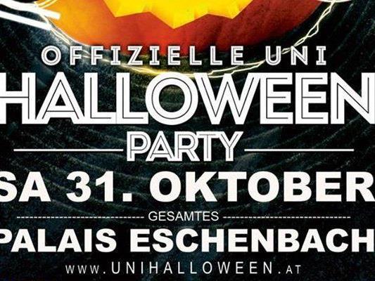 Das Palais Eschenbach wird am 31.10. zu einer besonders gruseligen Location