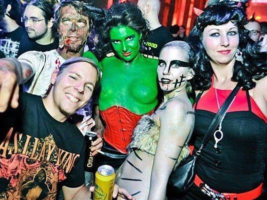 Wenn Halloween in Wien gefeiert wird, sind kreative Kostüme Pflicht