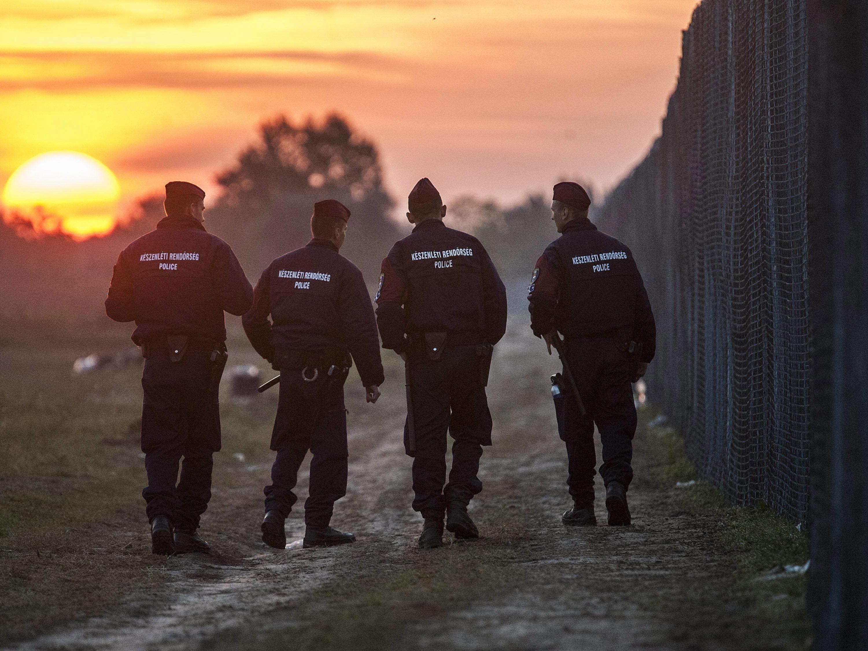 Korruptionsskandal bei ungarischen Grenzwächtern.