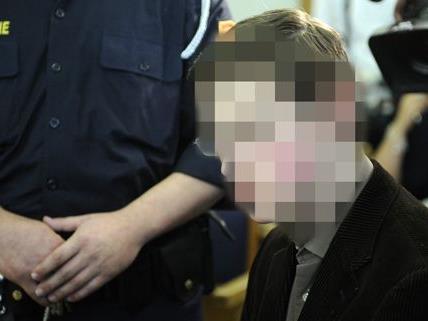 Philipp K. beim Mordprozess in Wien