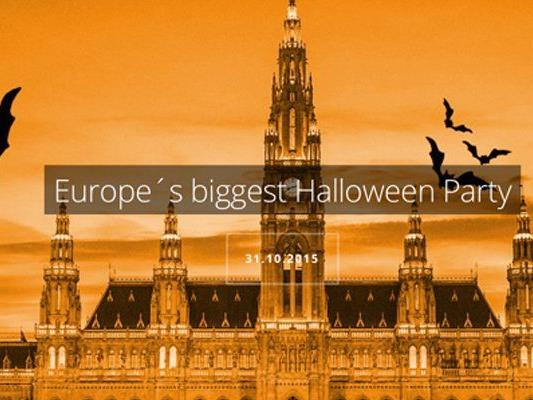 Zu Halloween wird das Rathaus zu einem Spukhaus