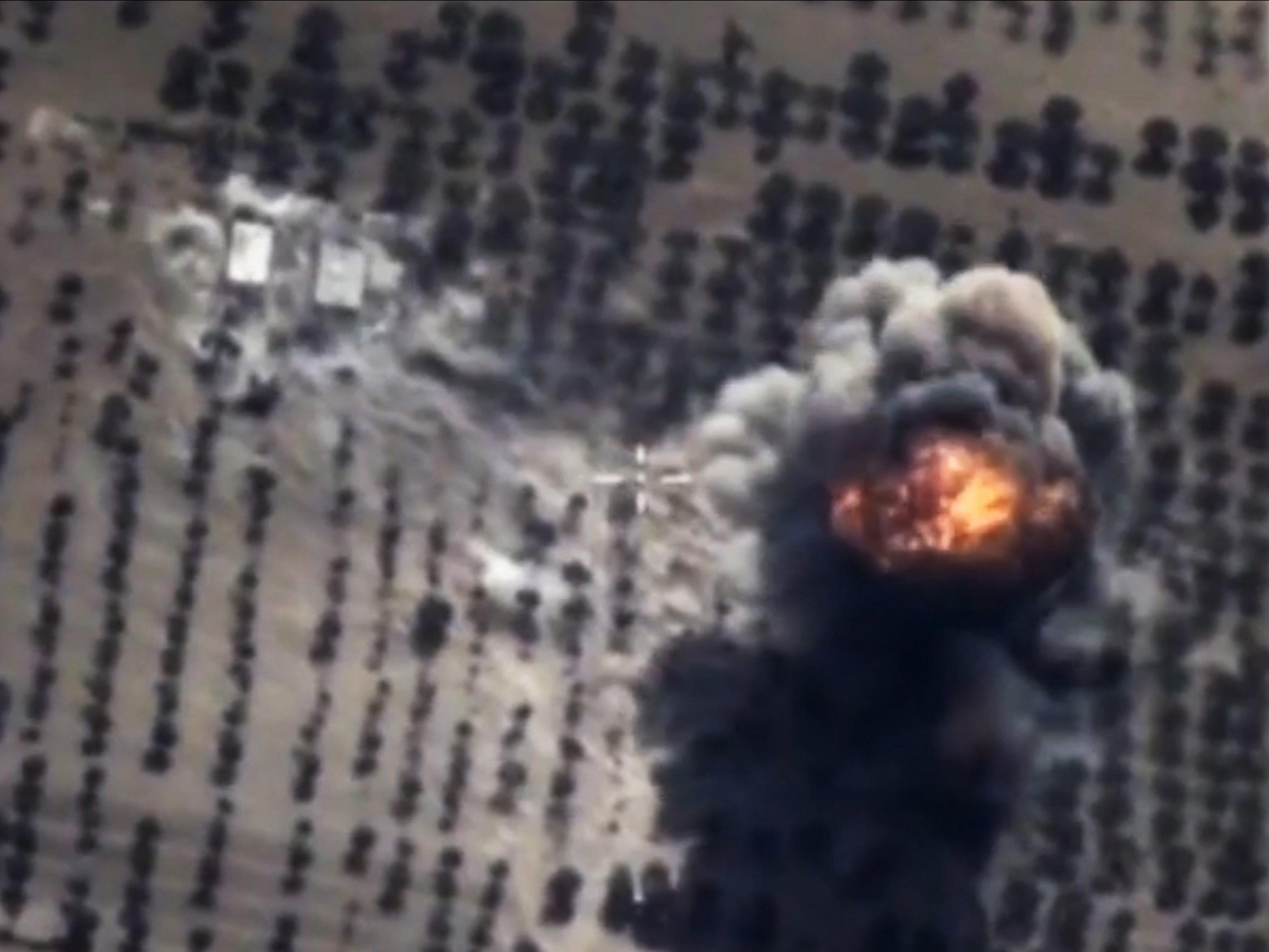 Die russischen Luftangriffe in Syrien sorgen in den USA und der Türkei weiter für Besorgnis.