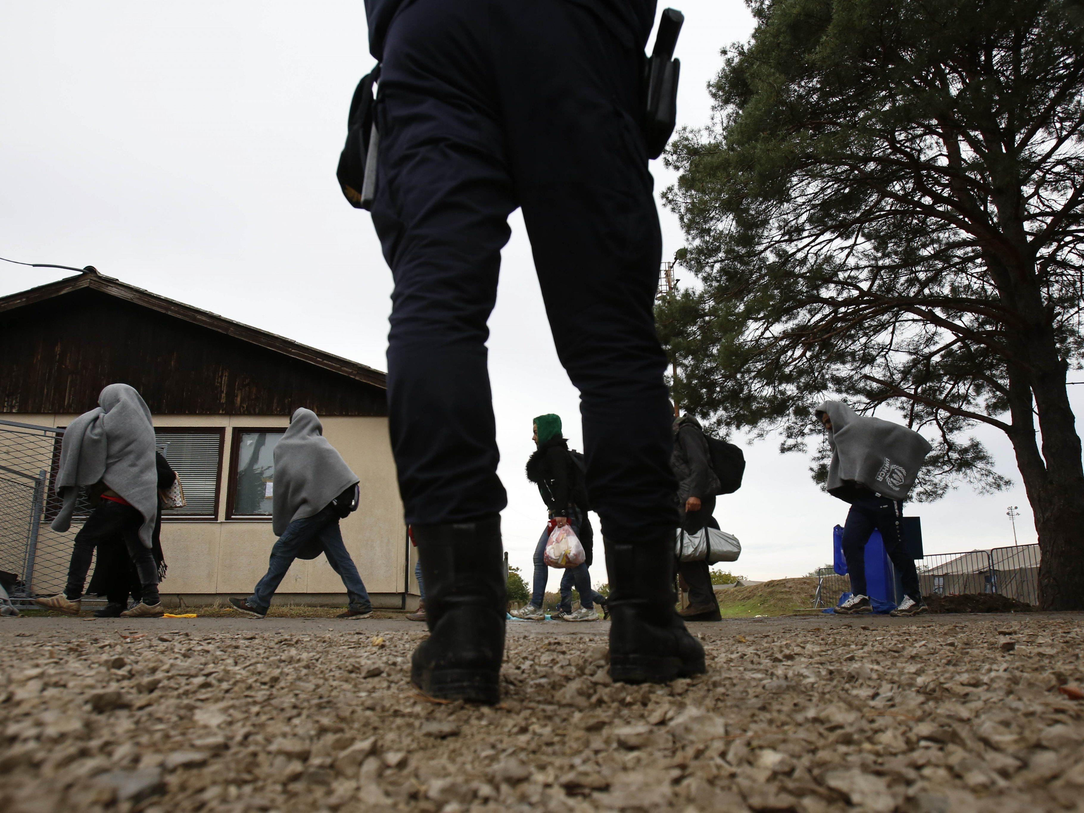 Ungarn schließt die Grüne Grenze.
