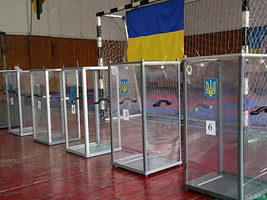 In Mariupol gab es Probleme mit den Stimmzetteln