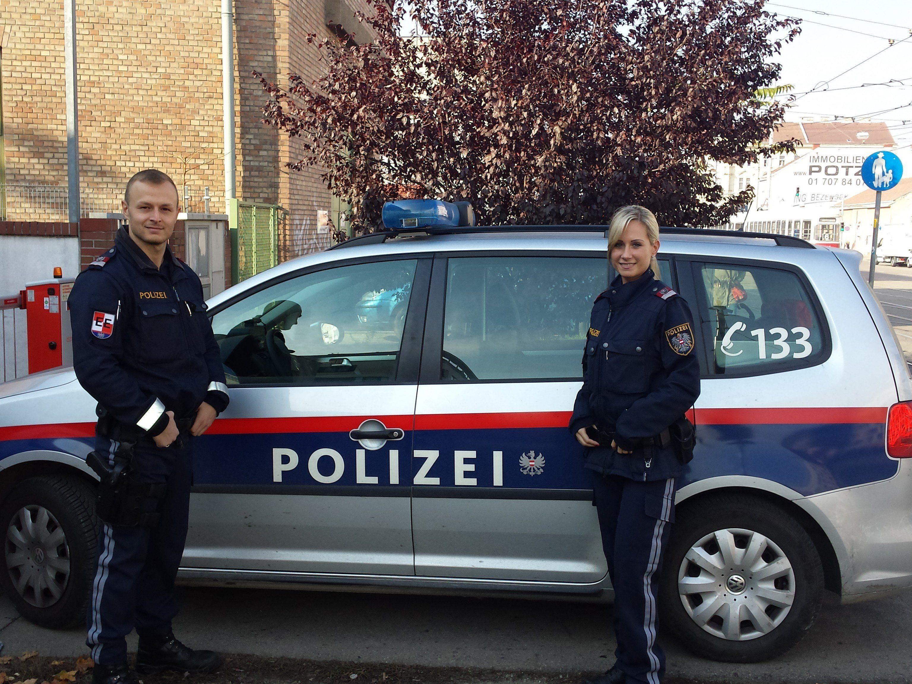 Die beiden Polizisten außer Dienst.