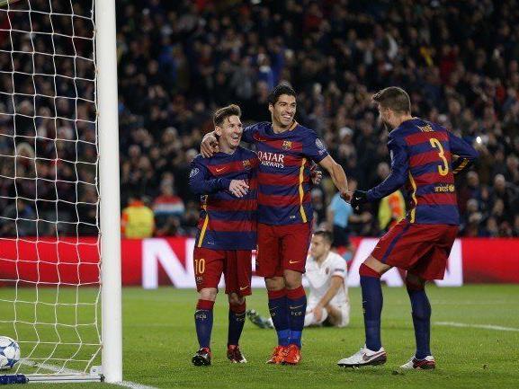 Gleich sechs Mal konnten die Spieler des FC Barcelona heute jubeln.