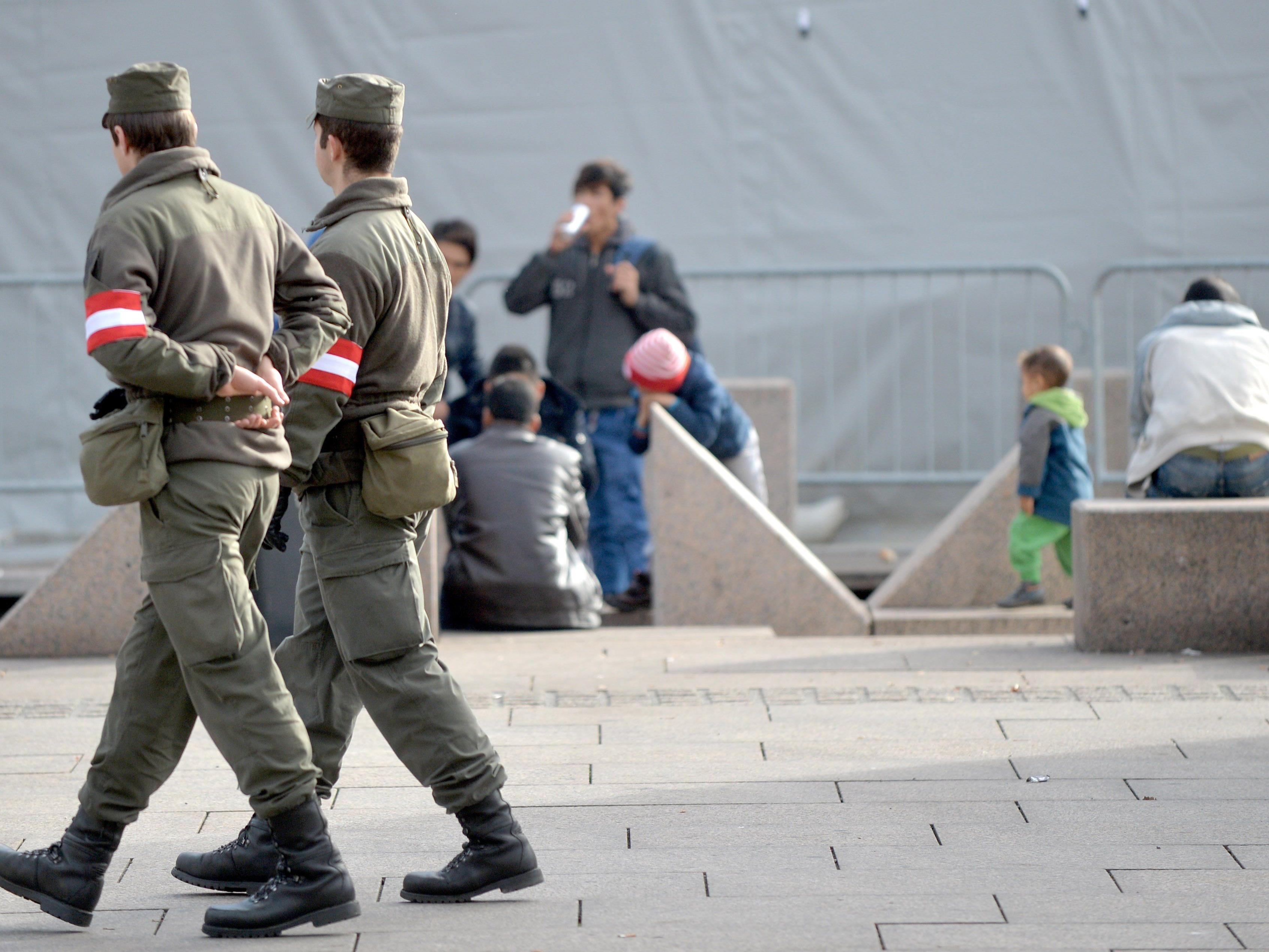 Seit Samstag werden die Patrouillen an der steirischen Grenze verstärkt.