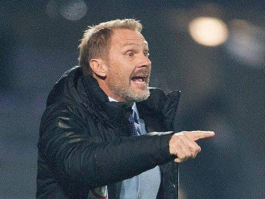 Austria-Trainer Thorsten Fink sieht das Unentschieden als gerechtes Resultat.