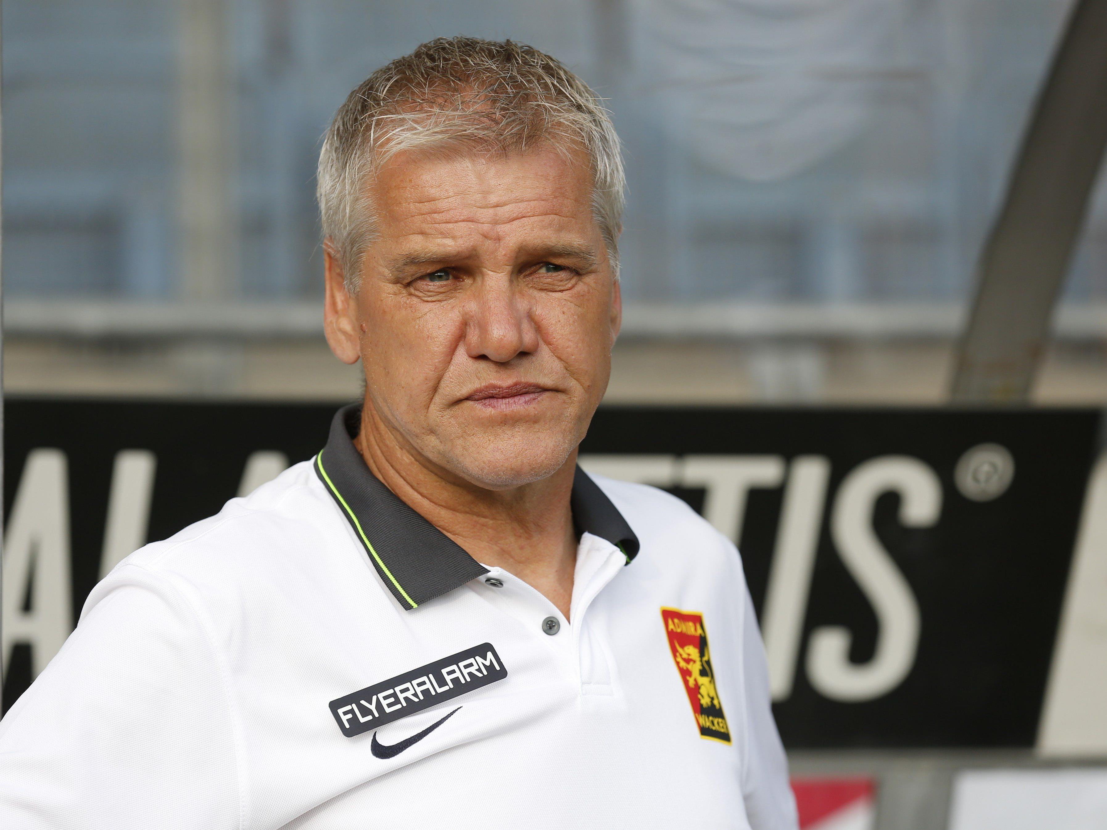 Admira-Coach Ernst Baumeister kann ab Jänner einen Neuzugang begrüßen.
