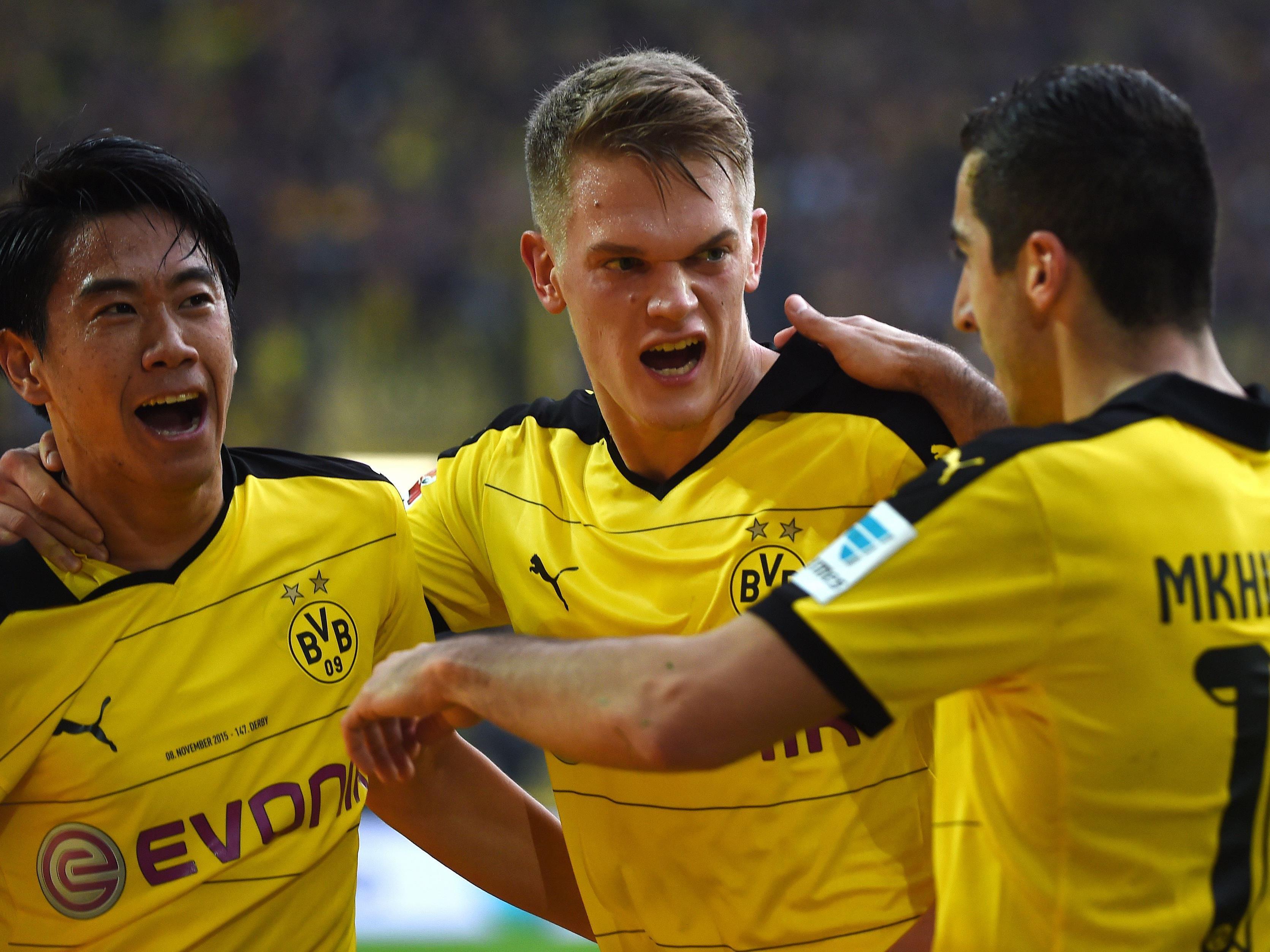 Der 13. Spieltag der deutschen Bundesliga beginnt mit dem Duell Hamburg gegen Dortmund.