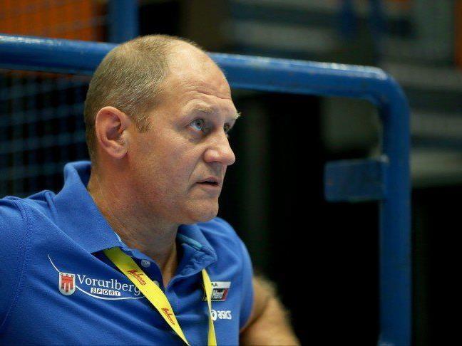 Hard Trainer Markus Burger konnte am Ende nichts gegen die Niederlage machen.