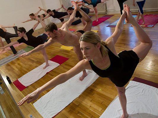 Yoga wird auch in Wien immer beliebter