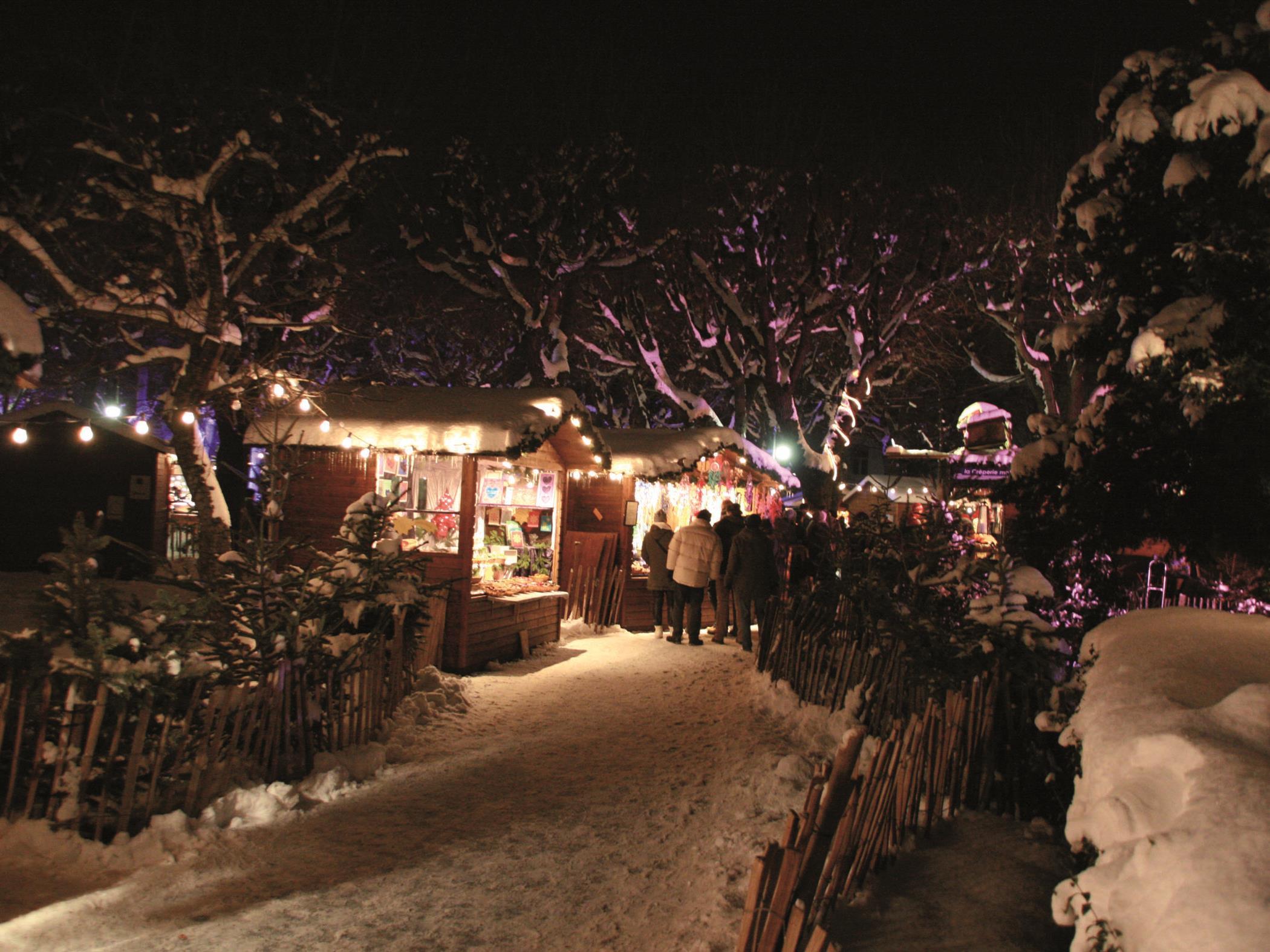 Am 14. November eröffnet das Weihnachtsdorf im Alten AKH.