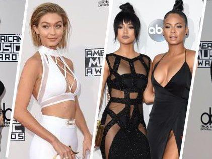 Heiße und elegante Roben bei den American Music Awards 2015.