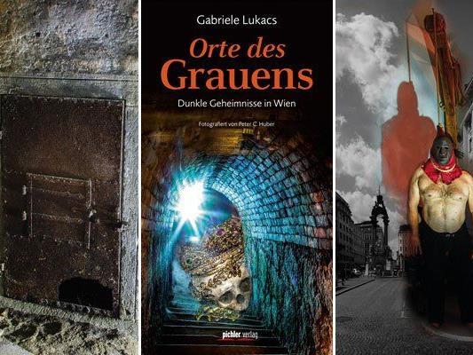 Im Buch werden Orte des Grauens in Wien näher untersucht.