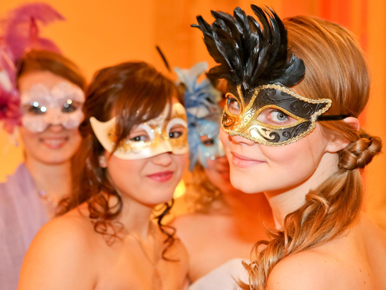 Der Maskenball ist auch international sehr beliebt.