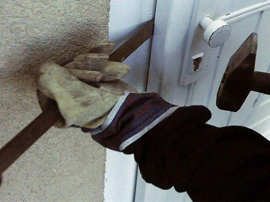 Die Einbrecher hatten die Hausbesitzerin geweckt.