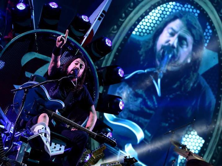 """Die Foo Fighters wollen """"etwas zurückgeben""""."""