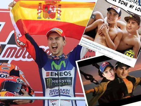 Jorge Lorenzo - für das Netz ist Rossi der wahre Champion.