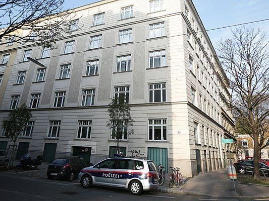 Tatort in Wien-Brigittenau: Das Wohnhaus in dem die Tote aufgefunden wurde