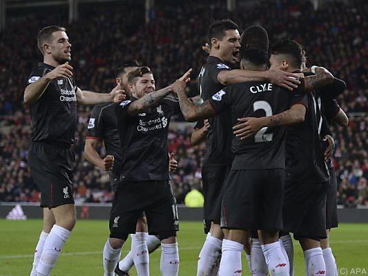 Liverpool bejubelte 1:0-Sieg bei Sunderland