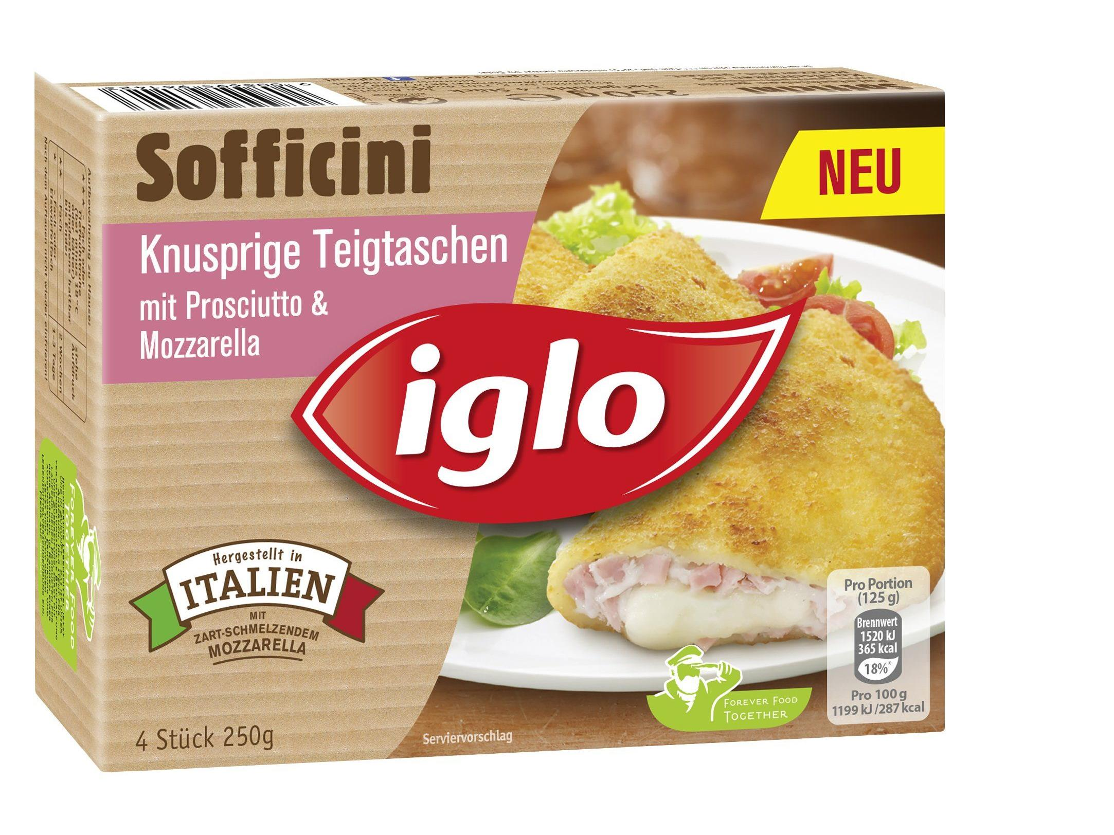 Drei Iglo Sofficini-Feinschmeckerpakete gewinnen!