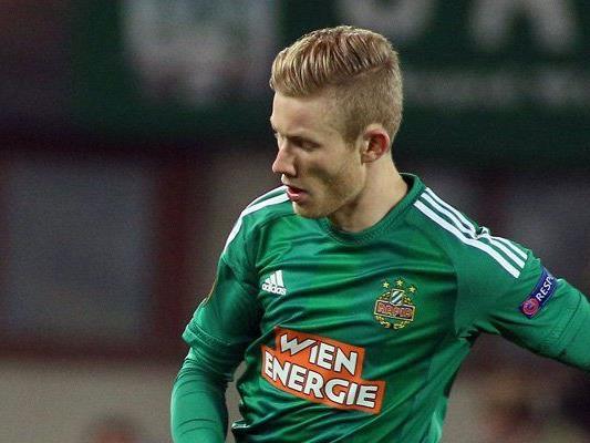 Wie lange spielt Florian Kainz noch für Rapid?