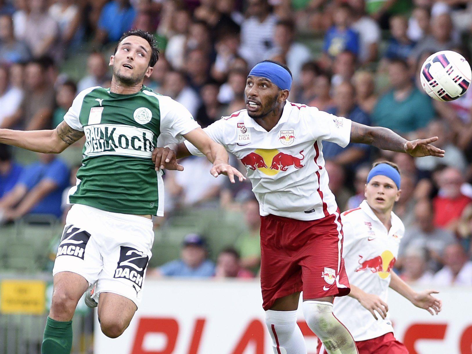 LIVE-Ticker zum Spiel SV Mattersburg gegen Red Bull Salzburg ab 16.00 Uhr.