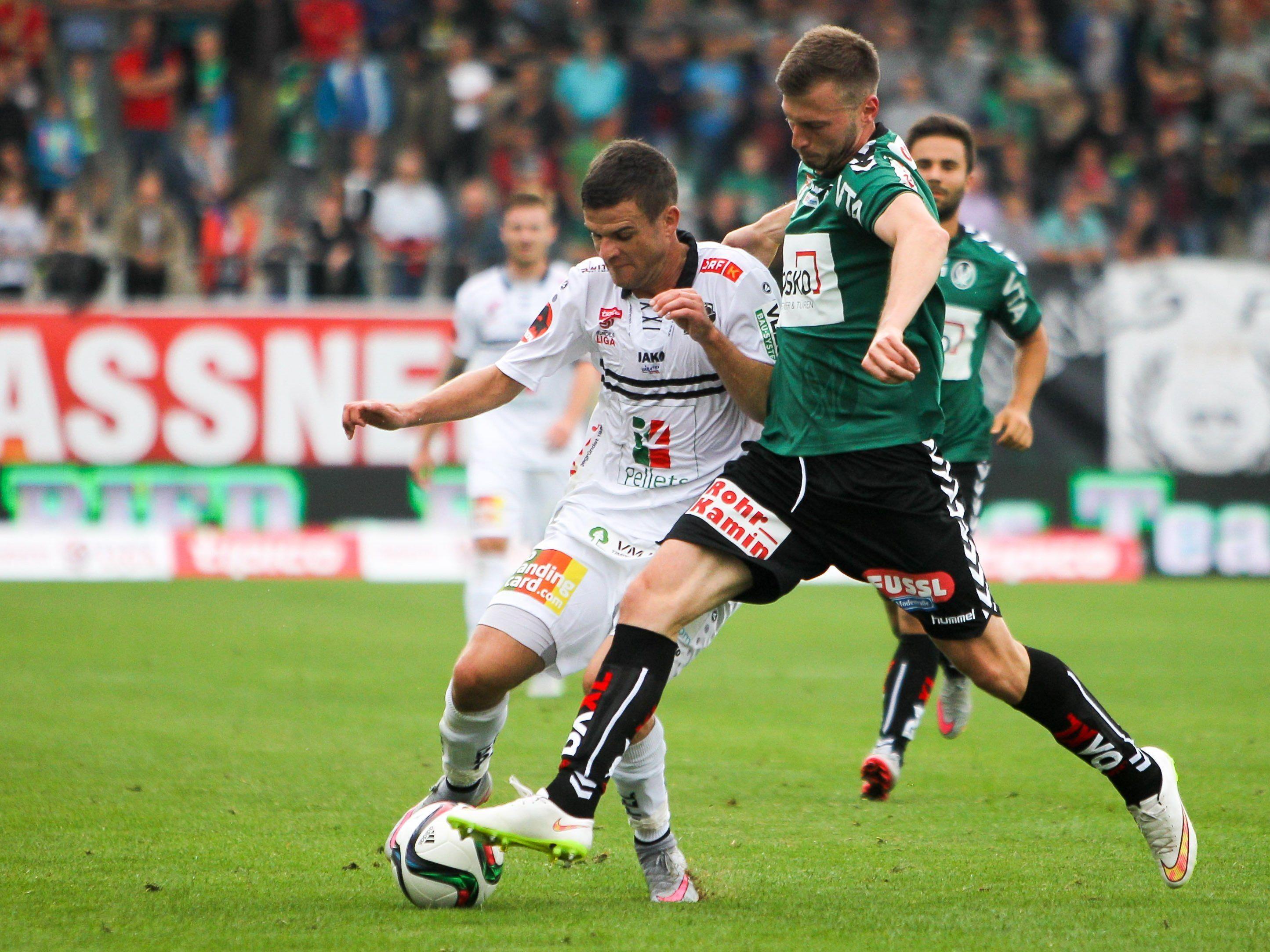 LIVE-Ticker zum Spiel SV Ried gegen WAC ab 18.30 Uhr.
