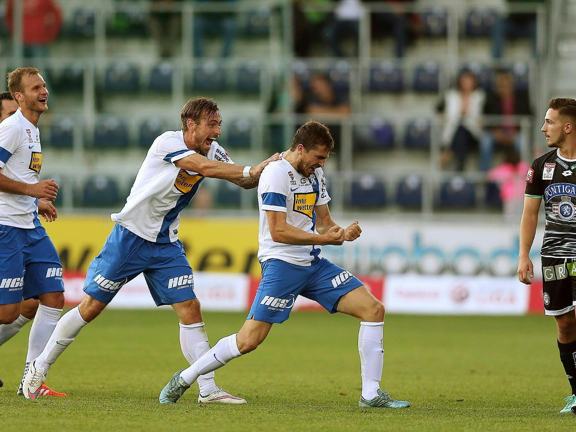 LIVE-Ticker zum Spiel SK Sturm Graz gegen SV Grödig ab 18.30 Uhr.