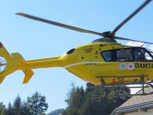 Die Lenkerin wurde schwer verletzt ins Spital gebracht.