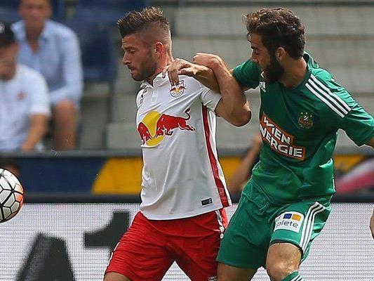 Im letzten Ligaspiel des Jahres gastiert Rapid in Salzburg.