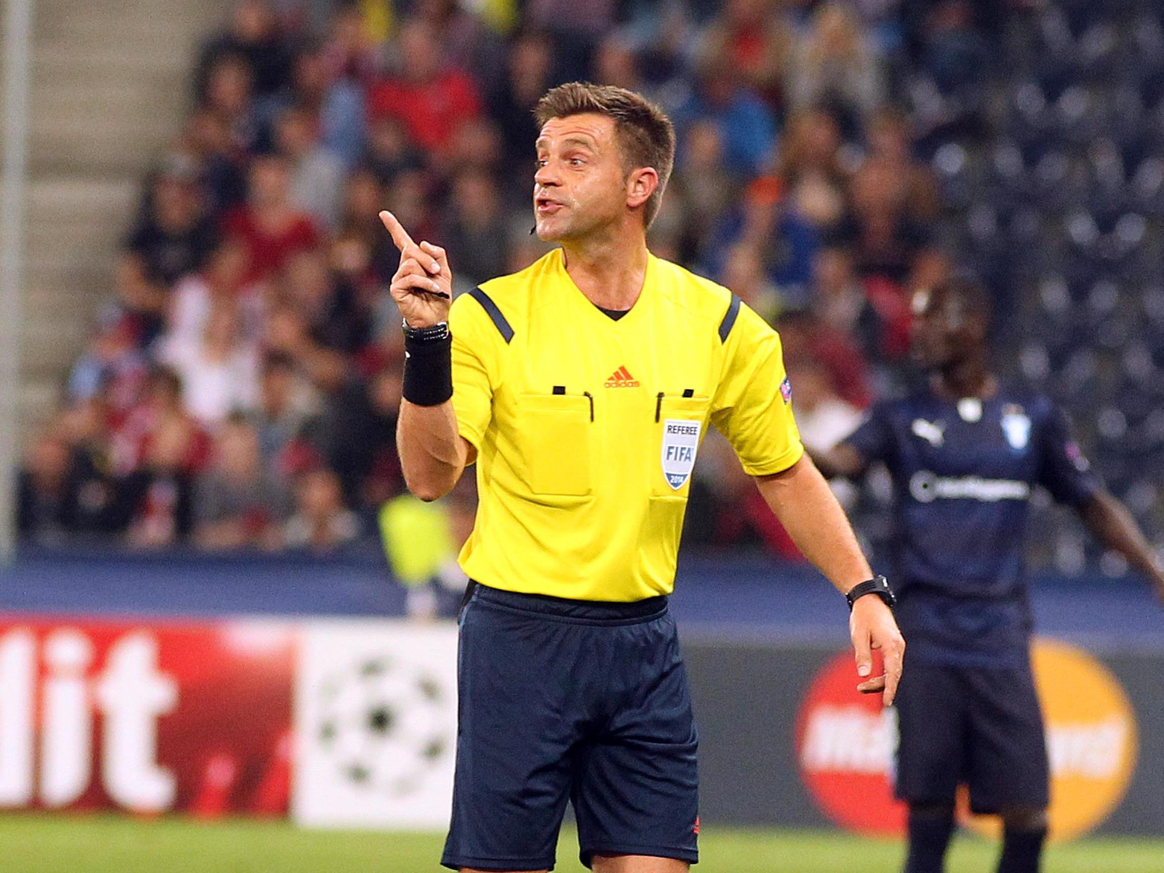 Nicola Rizzoli ist derzeit Italiens Nummer eins unter den Schiedsrichtern.
