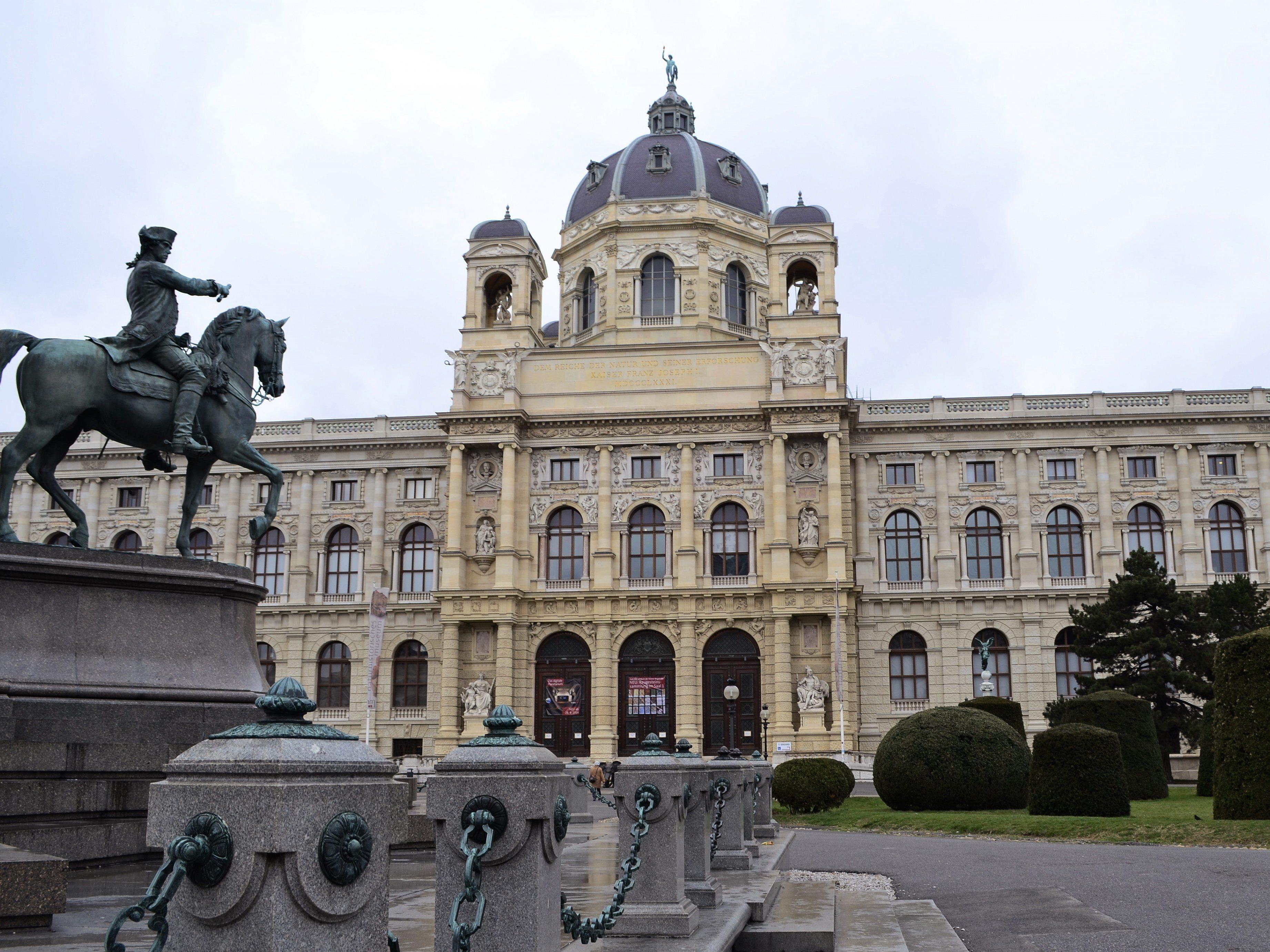 Das Programm des Naturhistorischen Museums in Wien.