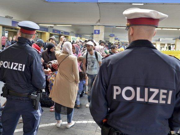 Die 17-Jährige wurde am Wiener Westbahnhof aufgegriffen.