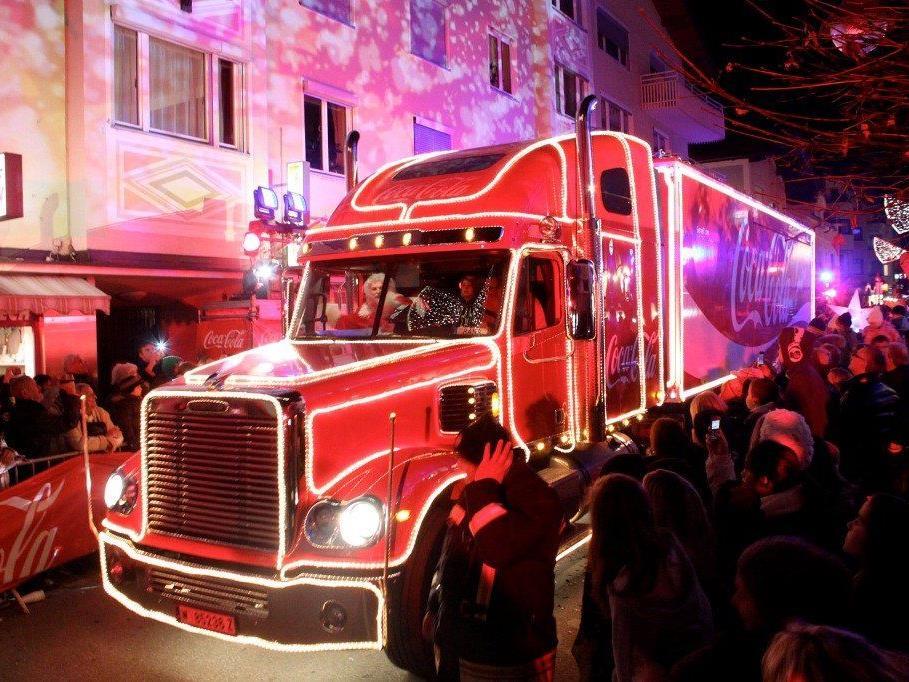 Der Coca-Cola-Weihnachtstruck kommt nach Wien.